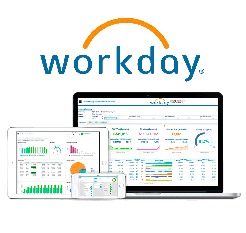 Workday Adaptive Planning